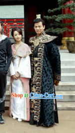 Top Chinese Emperor Clothing and Crown for Men