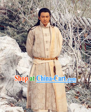 Traditional Chinese Swordsman Costume Complete Set
