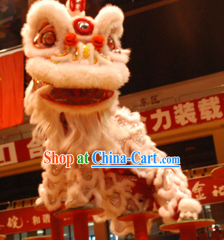 China Southern Lion Dance Equipments Complete Set