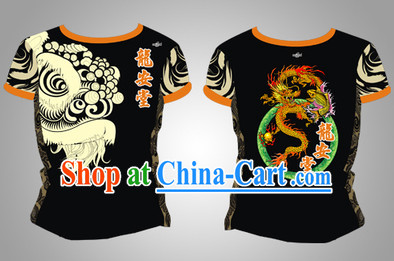 Chinese Dragon and Lion Dancer Uniform