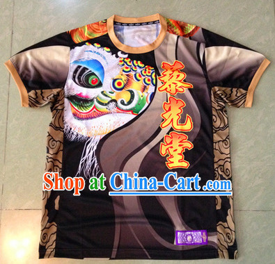 Chinese New Year Dragon and Lion Dancer Clothing