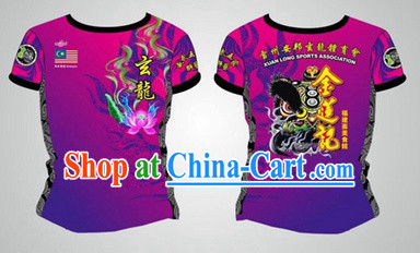 Chinese Dragon and Lion Dancer Cloth