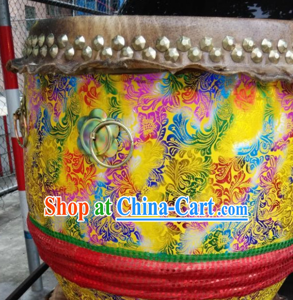 Professional Handmade Rainbow Color Festival Celebration Lion Drum