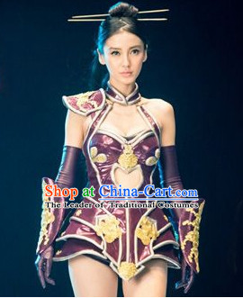 Asian Fairy Cosplay Halloween Costumes and Hair Accessories Complete Set