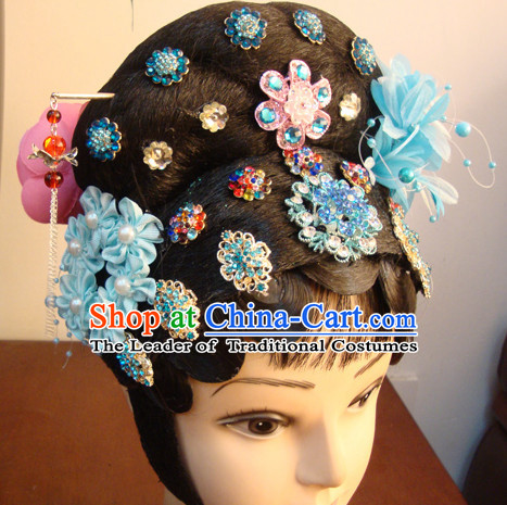 Chinese Opera Theatrical Performances White Snake Legend Fairy Fascinators Fascinator Wholesale Jewelry Hair Pieces