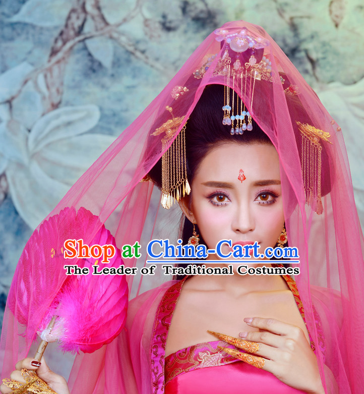 Asian Chinese Sexy Imperial Concubine Halloween Costume Cosplay Costumes Complete Set