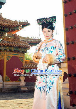 Asian Chinese Qing Dynasty Princess Halloween Costume Cosplay Costumes Complete Set