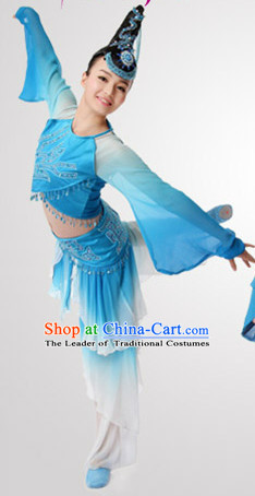 Chinese Classical Dance Costume Wholesale Clothing Discount Dance Costumes Dancewear Supply and Headpieces for Lady