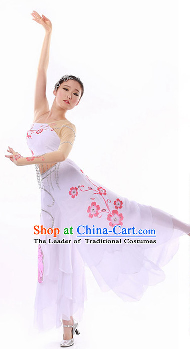 Chinese Folk Dance Costume Wholesale Clothing Discount Dance Costumes Dancewear Supply and Headpieces for Girls