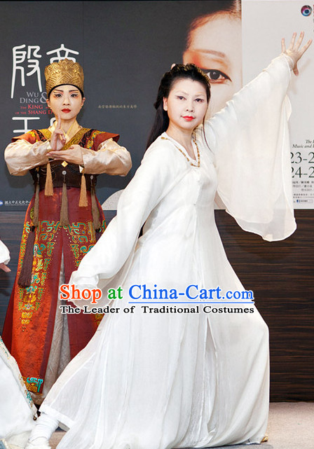 Ancient Chinese Shang Dynasty People Clothing Clothes Costume Garment Outfits