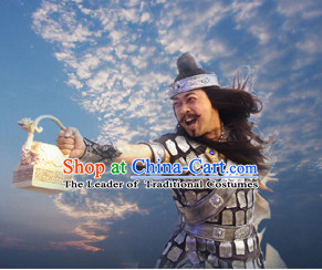 Chinese TV Drama General Warrior Superhero Costume for Men