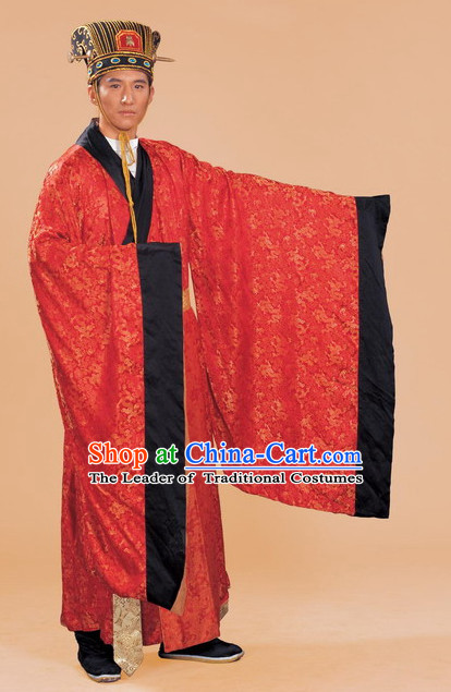 Chinese Sui Dynasty Period Emperor Costumes