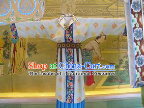 Chinese Costume Sui Dynasty Period Princess Costumes China Clothing Complete Set for Women