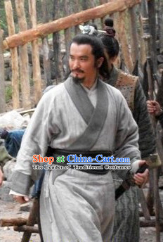 Song Dynasty Superhero Costume Costumes Dresses Clothing Clothes Garment Outfits Suits Complete Set for Men