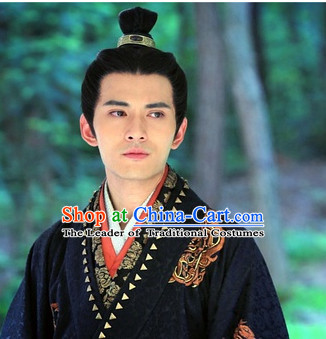 Chinese Qin Dynasty Prince Wigs for Men