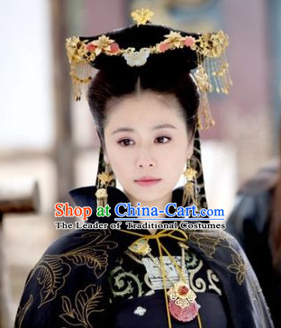 Chinese Qin Dynasty Princess Headpieces Hair Accessories Hair Clips Hairpin for Women