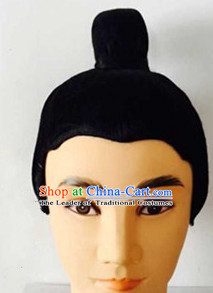 Ancient Chinese Style Black Wigs for Men