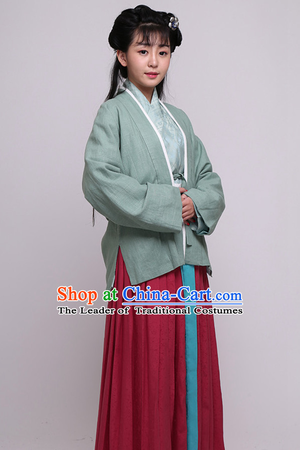 China Song Dynasty Clothing Ancient Chinese Costume Men Women Costumes Kids Garment Clothes for Women