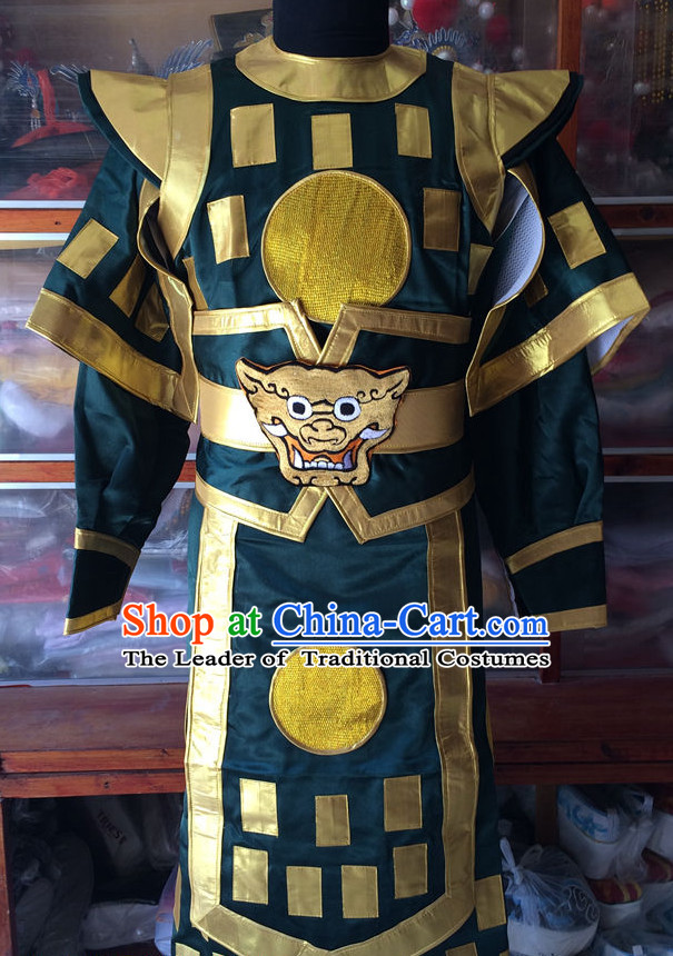 Chinese Opera Classic General Costumes Chinese Costume Dress Wear Outfits Suits for Men