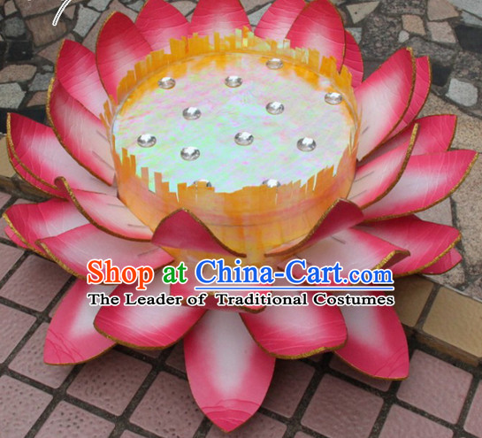 Chinese Classical Dance Lotus Flower LED Lights Base