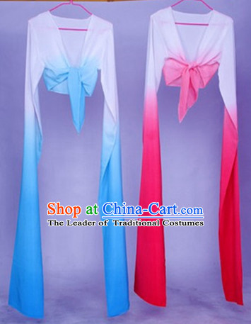 Color Transition Chinese Classical Dance Water Sleeves