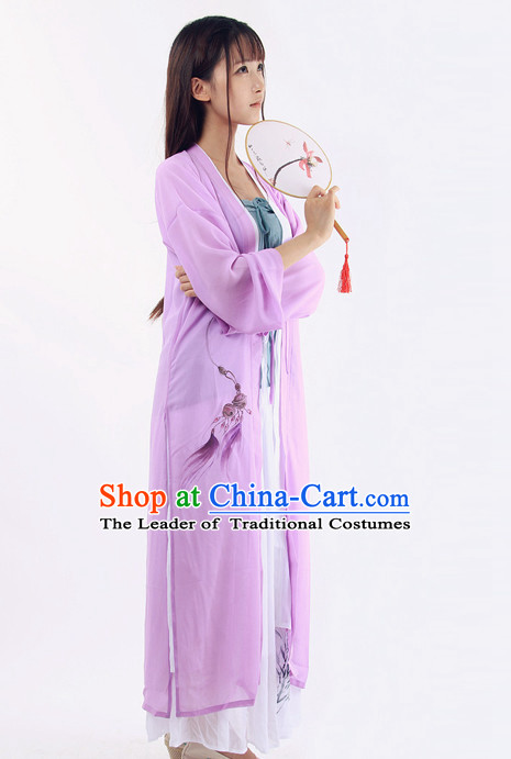 Ancient Chinese Hanfu Kimono Chinese Costume Chinese Ancient Costumes Carnival Costumes Fancy Dress Complete Set