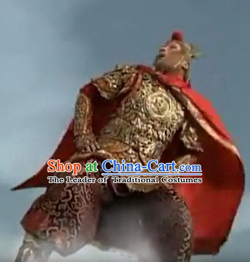 Sun Wukong Costume Chinese Costumes Cosplay Armor Garment