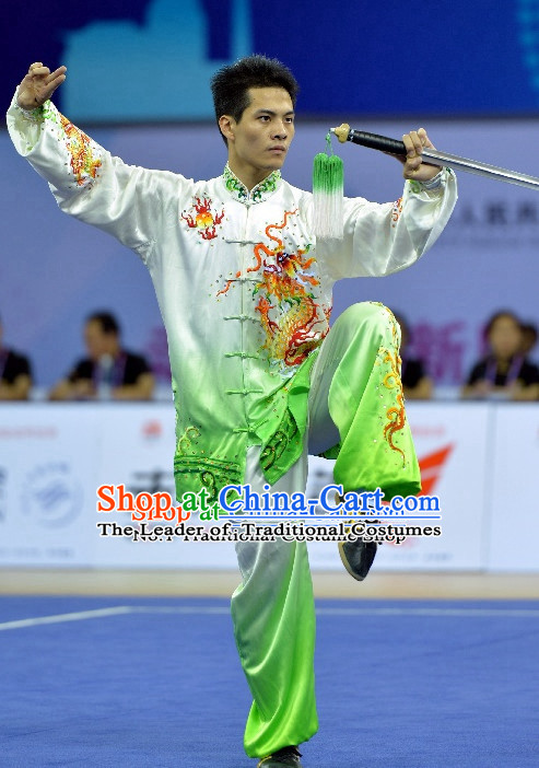 Top Asian China Tai Chi Qi Gong Yoga Uniform for Men