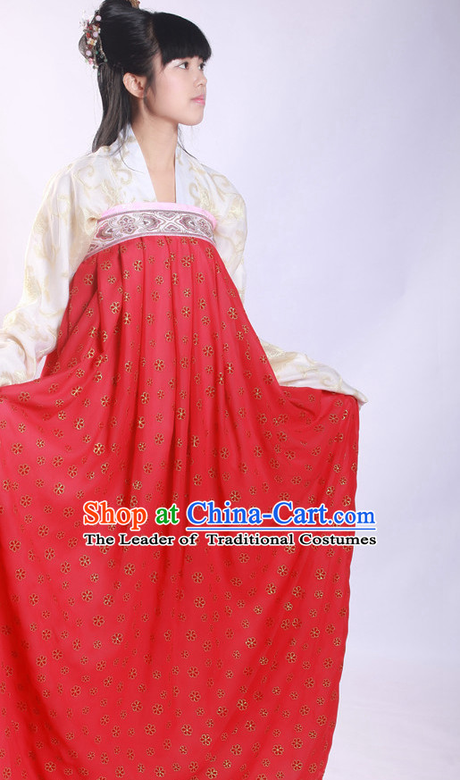 Chinese Costume Ancient Asian Korean Japanese Clothing Tang Dynasty Clothes Garment Outfits Suits for Women
