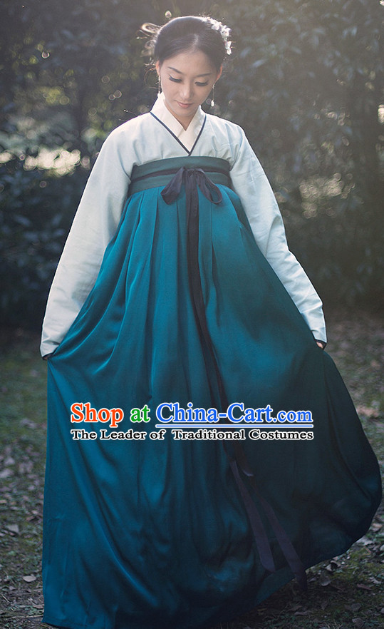Chinese Costume Ancient Asian Clothing Tang Dynasty Clothes Garment Outfits Suits Dress for Women