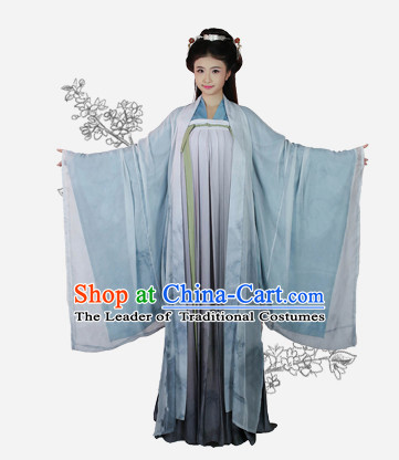 Chinese Tang Dynasty Clothing and Hair Jewelry Complete Set for Women