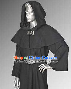 Traditional Medieval Costume Renaissance Costumes Historic Priest Clothing Complete Set for Men