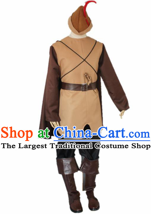 Ancient Medieval Costumes England's King Costume for Men Boys Kids Adults