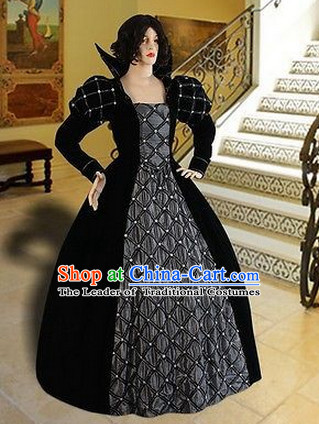Ancient Medieval Costumes Duchess Costumes for Women Girls Adults Kids