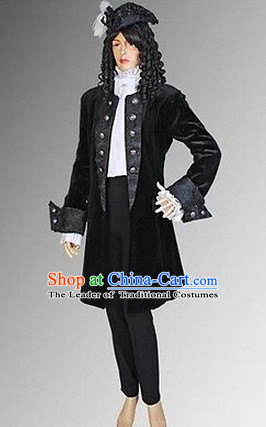 Ancient Gothic Costumes Renaissance Costume Dresses Complete Set for Women Girls Adults Kids