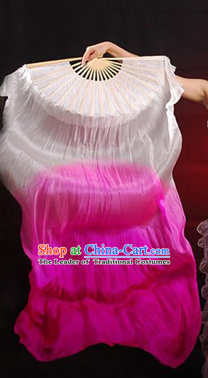 Color Change Silk Chinese Dancing Hand Fan Hand Fans