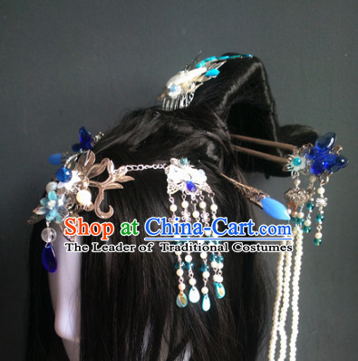 Ancient Chinese Queen Wigs Toupee Wigs Human Hair Wig Hair Extensions Sisters Weave Cosplay Wigs Lace Hair Pieces and Accessories for Men
