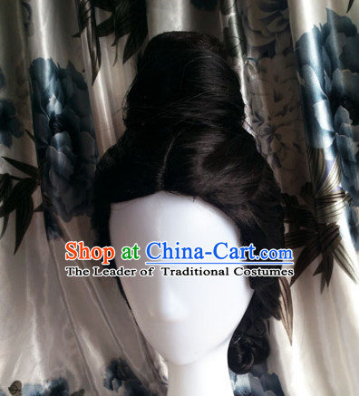 Ancient Chinese Fairy Wigs Toupee Wigs Human Hair Wig Hair Extensions Sisters Weave Cosplay Wigs Lace Hair Pieces for Women