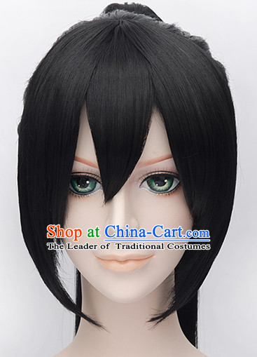 Ancient Chinese Style Weave Long Wigs