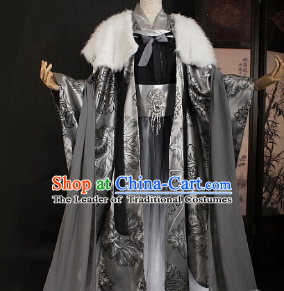 Chinese Ancient Emperor Costumes Japanese Korean Asian King Costume Wholesale Clothing Garment Dress Adults Cosplay for Men