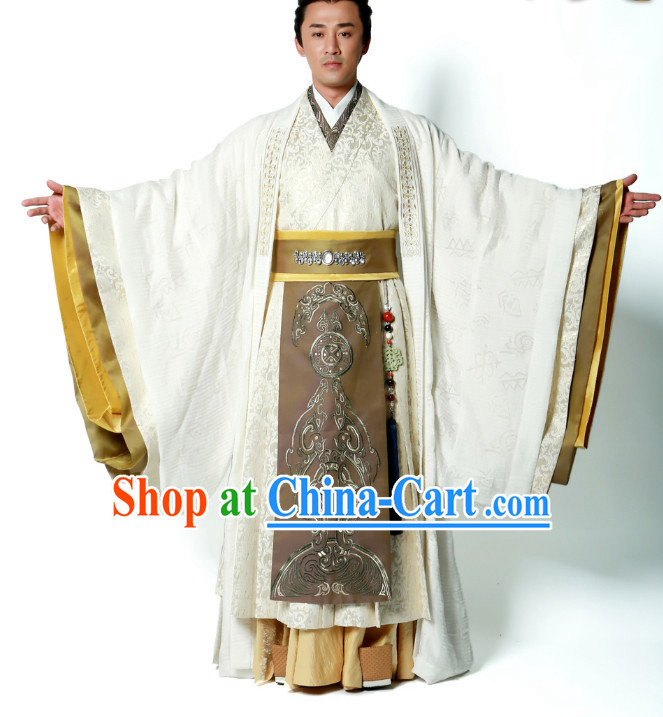China Nobleman Clothing Hanfu Complete Set for Men