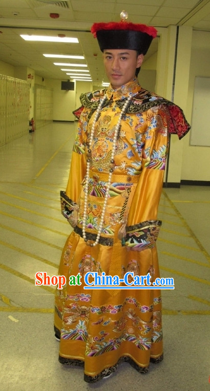 Ancient Chinese Emperor Movies Costumes and Hat