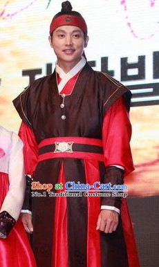 Ancient South Korean Warrior Costumes Korean Warrior Dress for Men