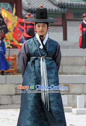 Korean Film Costumes and Hat for Men