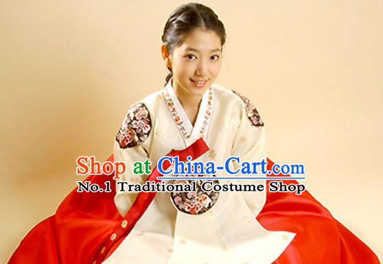 Traditional Korean Hanbok Outfit for Women