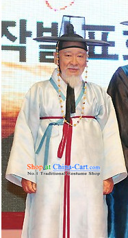 Traditional Korean Official Permier Costumes for Men