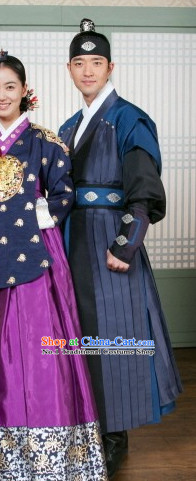 Traditional Korean General Costumes for Men