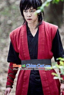 Traditional Korean Swordman Costumes for Men