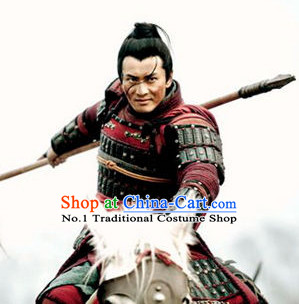 Chinese TV Play General Armor Costumes Complete Set