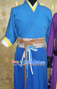 Chinese Ling Hu Chong Theme Photography Knight Costumes